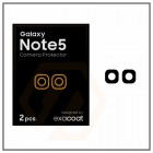 Exacoat Galaxy Note5 Camera Protector Matte Black (2pcs)