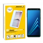 "Gobukee Dual Force Samsung Galaxy A8 2018 (5.6"") Tempered Glass Screen Protector"