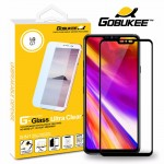 Gobukee Dual Force LG G7 ThinQ Full Cover Tempered Glass Screen Protector