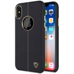 Nillkin Englon Leather Back Case iPhone X Black