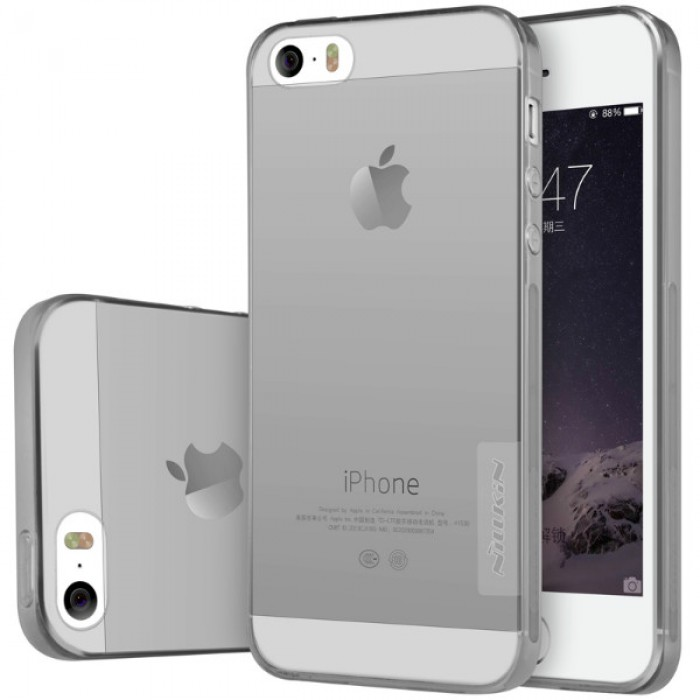 ... TPU Soft Case iPhone SE \/ 5S \/ 5 Grey Indonesia Original Harga Murah