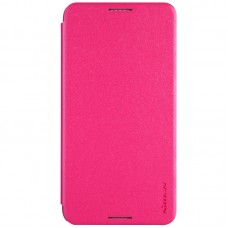 Jual Nillkin Sparkle Flip Case Cover HTC Desire 816 Rose Red Indonesia Original Harga Murah