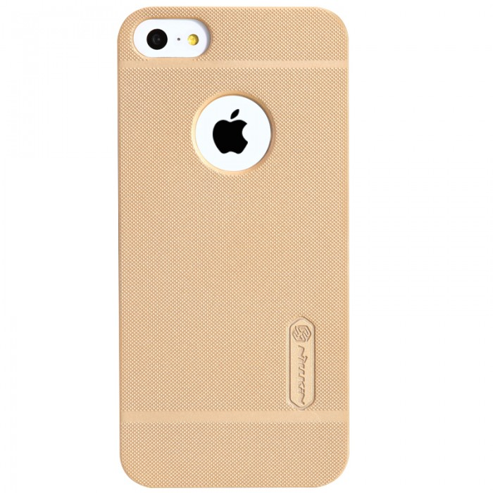Jual Nillkin Frosted Hard Case iPhone SE / 5s / 5 Gold Indonesia Original Harga Murah