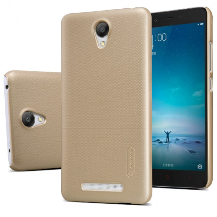 Jual Nillkin Frosted Hard Case Xiaomi Redmi Note 2 Gold