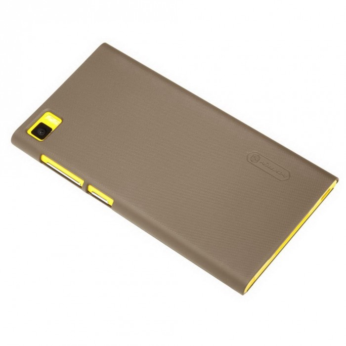 jual nillkin frosted hard case xiaomi mi3 brown indonesia