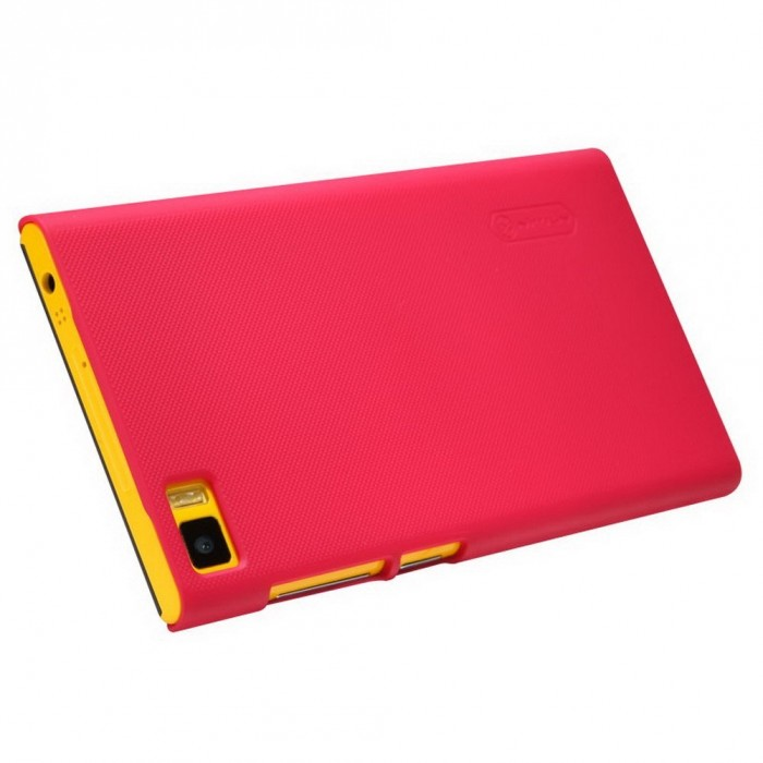 jual nillkin frosted hard case xiaomi mi3 red indonesia