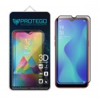Protego 3D Oppo A1k Full Cover Tempered Glass Screen Protector - Black