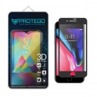 Protego 3D iPhone 7 / iPhone 8 Full Cover Tempered Glass Screen Protector - Black