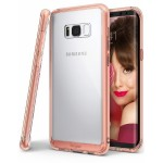 "Rearth Samsung Galaxy S8+ / S8 Plus (6.2"") Case Ringke Fusion - Rose Gold"