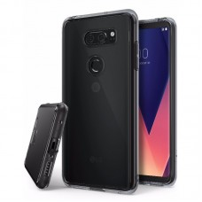 Jual Rearth LG V30 Case Ringke Fusion - Smoke Black Indonesia Original Harga Murah