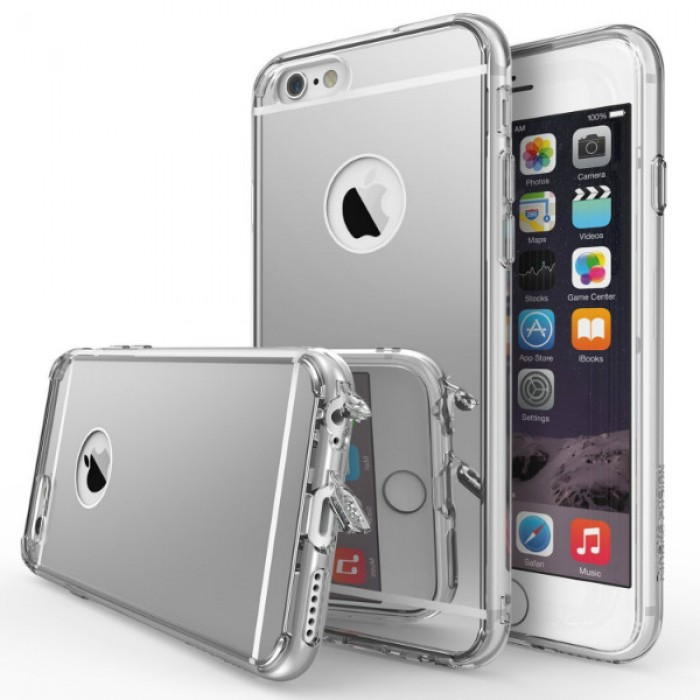 Jual Rearth iPhone 6 / 6s Case Ringke Fusion Mirror - Clear Indonesia ...