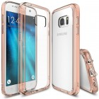 Rearth Samsung Galaxy S7 Case Ringke Fusion - Rose Gold