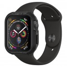 Spigen Apple Watch 44mm Series 4 Case Rugged Armor Black