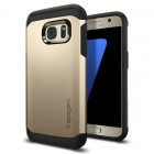 Spigen Samsung Galaxy S7 Case Tough Armor Champagne Gold
