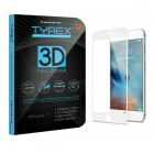 Tyrex iPhone 7 3D Full Cover Tempered Glass Screen Protector - White