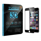 Tyrex iPhone 7 Plus 3D Full Cover Tempered Glass Screen Protector - Black