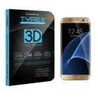 Tyrex Samsung Galaxy S7 edge 3D Full Cover Tempered Glass Screen Protector - Gold
