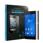 Tyrex Sony Xperia Z3 Tempered Glass Screen Protector (Free Plastic Back Protector)