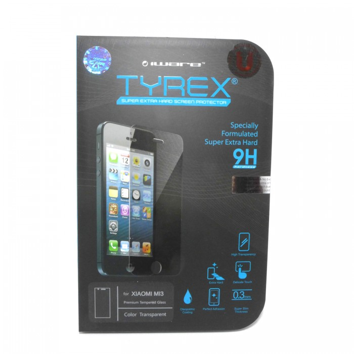 jual tyrex xiaomi mi3 tempered glass screen protector