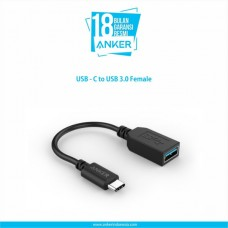 Jual Anker OTG USB-C to USB 3.0 Female - Black Indonesia Original Harga Murah