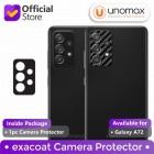 Camera Protector Samsung Galaxy A72 Exacoat - Carbon Fiber Black