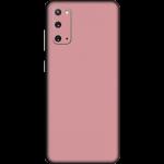 "Skin / Garskin Samsung Galaxy S20 (6.2"") Exacoat - Blush Pink"