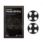 Camera Protector Huawei Mate 30 Pro Exacoat - Carbon Fiber Black (2pcs)