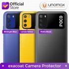 Camera Protector Xiaomi Poco M3 Exacoat - Blue (2pcs)