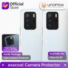 Camera Lens Protector Xiaomi Poco X3 GT Exacoat - Carbon Fiber Black