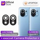 Camera Protector Xiaomi Mi 11 / Mi11 Exacoat - Carbon Fiber Black (2pcs)