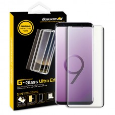 "Jual Gobukee Dual Force Galaxy S9+ / S9 Plus (6.2"") FULL GLUE Tempered Glass Screen Protector + GARANSI Indonesia Original Harga Murah"