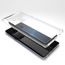 Jual Gobukee Samsung Galaxy Note9 / Note 9 Crystal Dual Force Tempered Case - Clear Indonesia Original Harga Murah