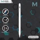 Stylus Mils Palm Rejection Tilt Sensitive Apple Pencil 2 Magnetic for iPad - White