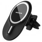 Car Holder Nillkin MagRoad Lite MagSafe iPhone 12 / mini / Pro / Pro Max Magnetic Car Mount - Black (Clip)