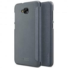 "Jual Nillkin Sparkle Flip Case Cover Asus Zenfone 4 Selfie (5.5"") Black Indonesia Original Harga Murah"