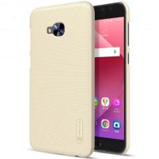 "Jual Nillkin Frosted Hard Case Asus Zenfone 4 Selfie Pro (5.5"") Gold Indonesia Original Harga Murah"