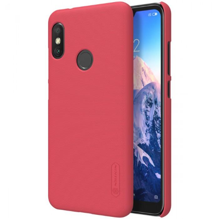 Jual Nillkin Frosted Hard Case Xiaomi Mi A2 Lite Redmi 6 Pro Red Indonesia Original Harga