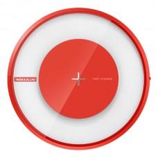 Jual Nillkin Qi Wireless Charger Magic Disk 4 (Fast Charging) Red Indonesia Original Harga Murah