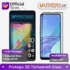Tempered Glass Oppo A53 Protego 3D Full Cover Screen Protector - Black