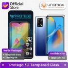 Tempered Glass Oppo A74 4G Protego 3D Full Cover Screen Protector