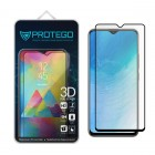 Tempered Glass Vivo Y19 Protego 3D Full Cover Screen Protector - Black