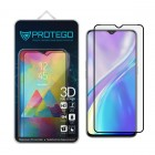 Tempered Glass Realme XT Protego 3D Full Cover Screen Protector - Black