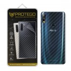 Back Protector Asus Zenfone Max Pro (M2) Protego - Carbon Clear