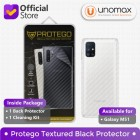 Back Protector Samsung Galaxy M51 Protego - Carbon Clear