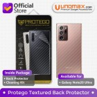 "Back Protector Samsung Galaxy Note20 Ultra / Note 20 Ultra (6.9"") Protego - Carbon Clear"