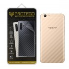 Back Protector Oppo F3 Plus Protego - Carbon Clear