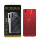 Back Protector Oppo F7 Protego - Carbon Clear