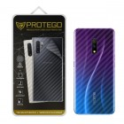 Back Protector Realme X Protego - Carbon Clear