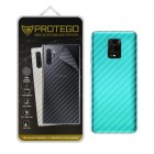 Back Protector Xiaomi Redmi Note 9 Pro Protego - Carbon Clear