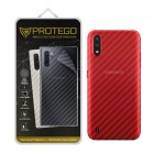 Back Protector Samsung Galaxy A01 Protego - Carbon Clear